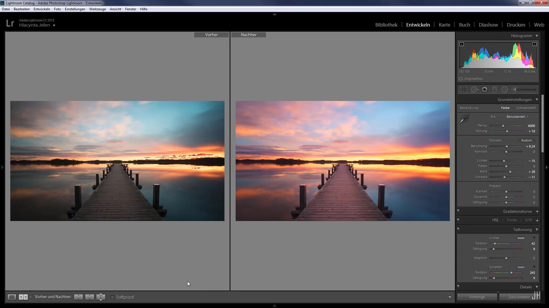 Bildbearbeitung lernen